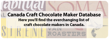 Chocolate Canada Database