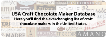Chocolate USA Database